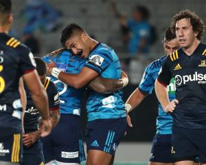 The Highlanders' loss to the Blues puts them in must win territory. Photo: Getty Images