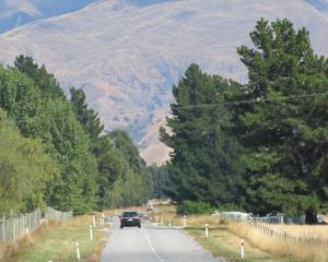 Turning Mt Barker Rd, near Wanaka, into a link to Queenstown is ''being considered''. Photo: Mark...
