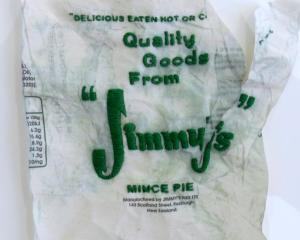 Jimmy's Pie Wrapper, by Jay Hutchinson