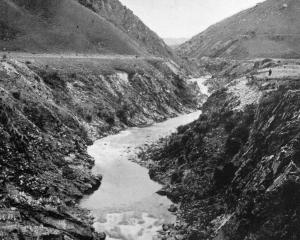 The Manuherikia Gorge, near St Bathans. The water from the upper reaches has played an important...