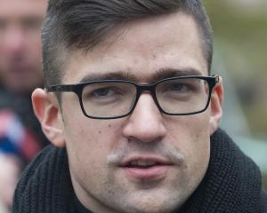 Martin Sellner, leader of the right-wing populist Identitarian movement of Austria. Photo: AP