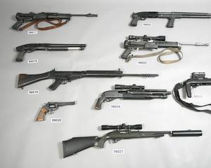 Guns found in Jan Mollenaar's bedroom
