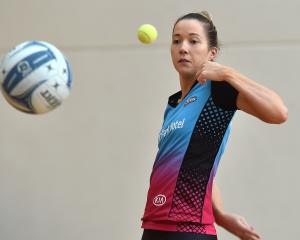 Kendall McMinn works on her ball skills during Southern Steel training at the Edgar Centre on...