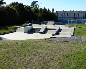 The Oamaru skate park. Photo: Daniel Birchfield