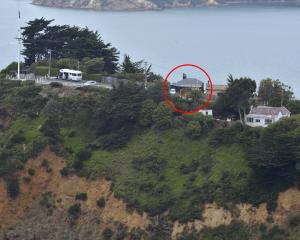 The Hotere studio at Observation Point at Port Chalmers which both the owner and Port Otago want...