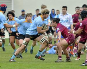 Varsity were impressive in their win over Alhambra Union last weekend. Photo: Gerard O'Brien