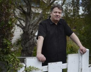 The Chills frontman Martin Phillipps at his home in Dunedin. PHOTO: GERARD O'BRIEN