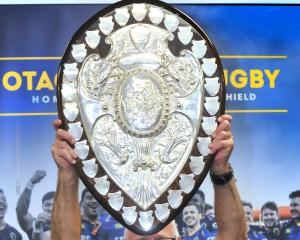 The Ranfurly Shield. Photo: ODT files