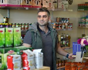 Business owner Hasan Abdel Rahman says some Dunedin Muslims remain afraid to leave their homes...