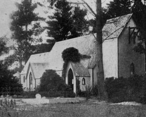 St John's Church, Waikouaiti, which is 50 years old. - Otago Witness, 5.3.1919.