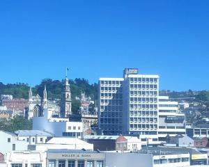 The weather is fine in Dunedin today whch has a predicted high of 16degC. Photo: James Hall