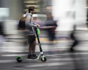 Auckland City Council has lifted its Lime e-scooter suspension . Photo: NZME