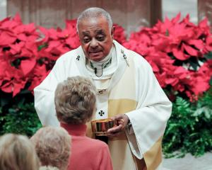 The Most Rev Wilton D. Gregory is the first African American archbishop of Washington.