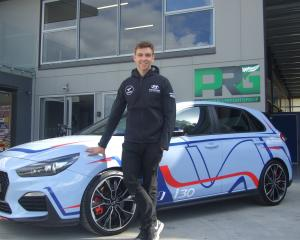 Kiwi rally star Hayden Paddon settles in at the new Paddon Rallysport base at Cromwell's...