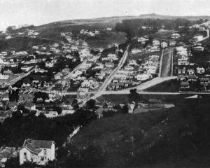A section of Caversham - a suburb now amalgamated with Dunedin City. - Otago Witness, 30.4.1919