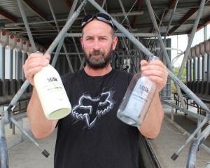 Windy Ridge Farm milk producer Andrew Moir, of Benhar, is questioning Foodstuffs South Island's...