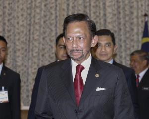 Sultan Hassanal Bolkiah. Photo: Getty Images
