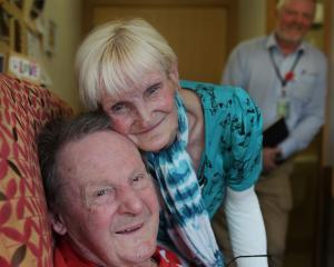 World War 2 veteran and dementia patient Neil Harper (97) and  wife Laurel, who he remembers...