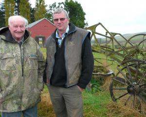 Father and son Maurice and Tim Kempthorne are looking forward to making their family's more than...