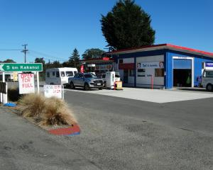 The Maheno service station south of Oamaru, where Gull will open its first South Island site in...