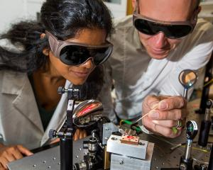 Dr Madhuri Kumari.(left) and Dr Harald Schwefel. Photo: Supplied