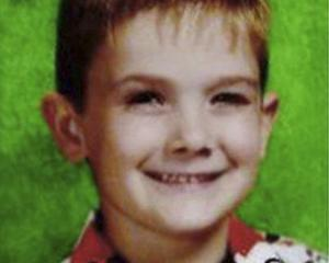 Undated photo provided by the Aurora, Ill., Police Department shows missing child, Timmothy Pitzen. Photo: AP