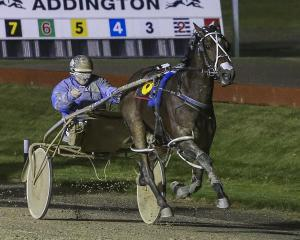 Turn It Up, in the hands of co-trainer and driver Mark Purdon, extends his wonderful season by...