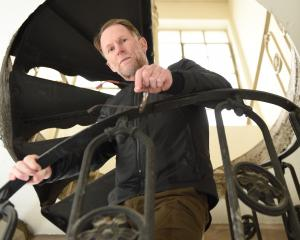 Dunedin writer David Howard is headed to Ulyanovsk, Russia, for a writer's residency. PHOTO:...