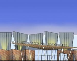 The proposed Remarkables Park convention centre. GRAPHIC: SUPPLIED