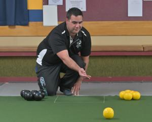 Daniel French shows his form he will need in the test against Australia starting in Invercargill...