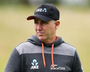 Black Caps coach Gary Stead.