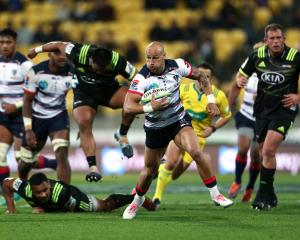 The Rebels fought back in the second half to give a sloppy Hurricanes team a late scare. Photo:...