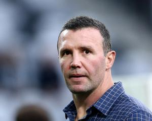 Highlanders coach Aaron Mauger. Photo: Getty Images
