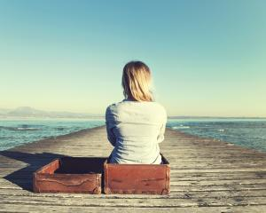 It can help to sit with your emotional baggage and examine it. Photo: Getty Images