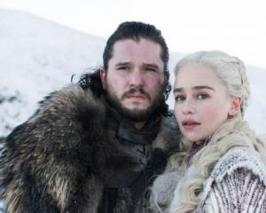 Jon Snow (Kit Harington) and Daenerys Targaryen (Emilia Clarke). Photo: Supplied