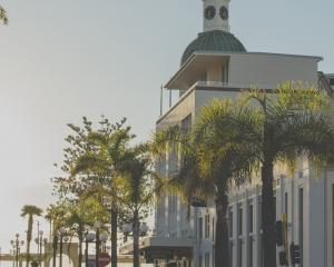 Early mornings showcase Napier's Art Deco buildings in all their glory. Photo: Hawke's Bay Tourism