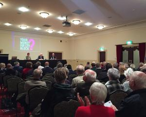 Hundreds of people discuss a multimillion-dollar investment from Invercargill city council at a...