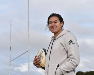 Kilistina Moata'ane has been selected for the Black Ferns side. Photo: Gregor Richardson