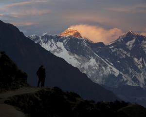 Mount Everest. Photo: Reuters