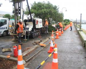 Otago Regional Council contractors start an investigation into a possible fuel leak at the...
