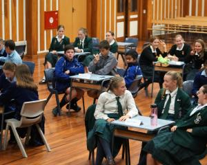 Pupils from Timaru, Ashburton, Oamaru and Geraldine were among the 15 teams competing in the...