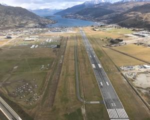 Queenstown Airport, which some would like to see developed into a residential area. PHOTO: DAISY...