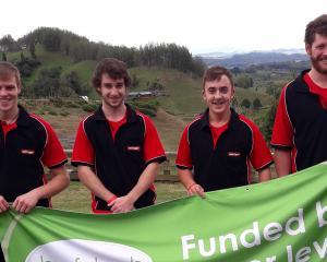 Four South Island shearers earned a sponsored trip to New Zealand Shearing Championships in Te...