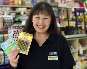 Caversham Foodmarket and Lotto store owner Sandra Shum is celebrating the 30th anniversary of...