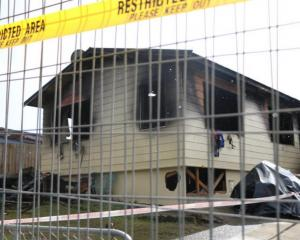 Fire investigators believe this South Auckland house fire spread so quickly because of a highly...