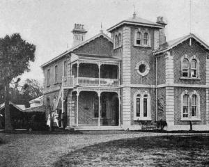 The Southland Red Cross convalascent home for soldiers, Invercargill. - Otago Witness, 28.5.1919