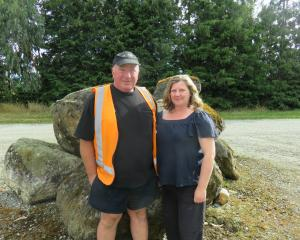 Travis Leslie and Catriona Cunningham, who manage Landcorp's Kepler Farm, near Te Anau, will be...