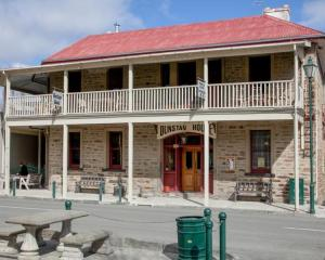 The historic Dunstan Hotel in Clyde. Photo: ODT files