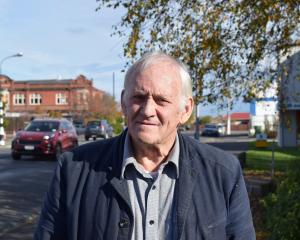Evan Sad­ler, of Mosgiel, wants the Dunedin City Council to provide a water supply without...