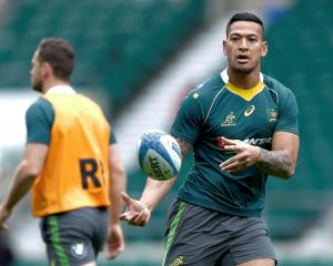 Israel Folau. Photo: Reuters